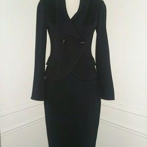 St. John Navy Suit